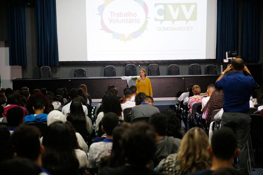 Palestra sobre valorização da vida é ministrada para 300 alunos da rede pública