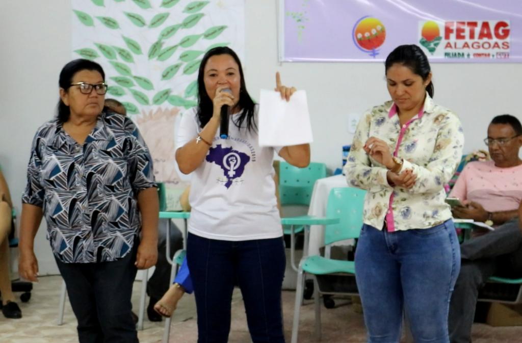 Fetag/AL realiza Curso de Formação Política para Mulheres