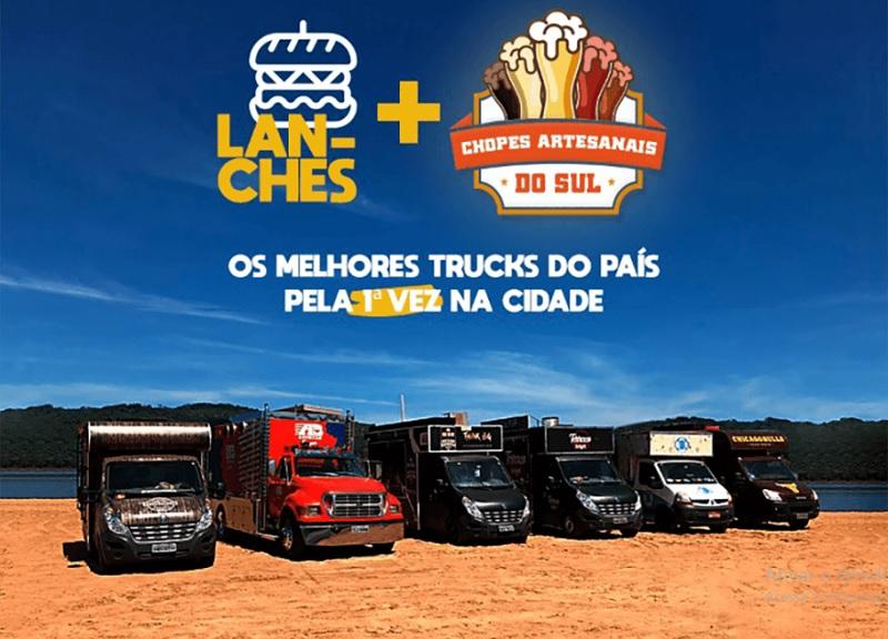 Festival de Food Truck desembarca em Arapiraca neste final de semana