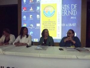 Secretária da Mulher participa de Conferência Municipal dos Direitos da Pessoa com Deficiência
