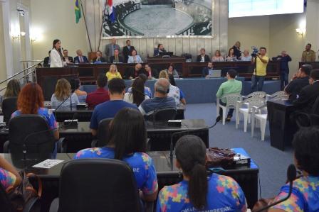 Assembleia Legislativa realizou nesta segunda-feira, 22, uma sessão especial  com o tema Entendendo os desafios do autismo