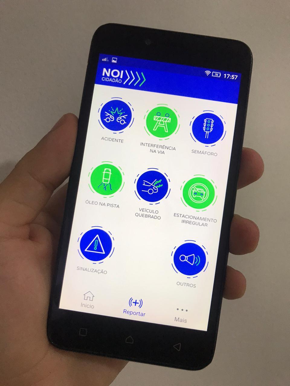 Prefeitura lança aplicativo para atender ocorrências de trânsito