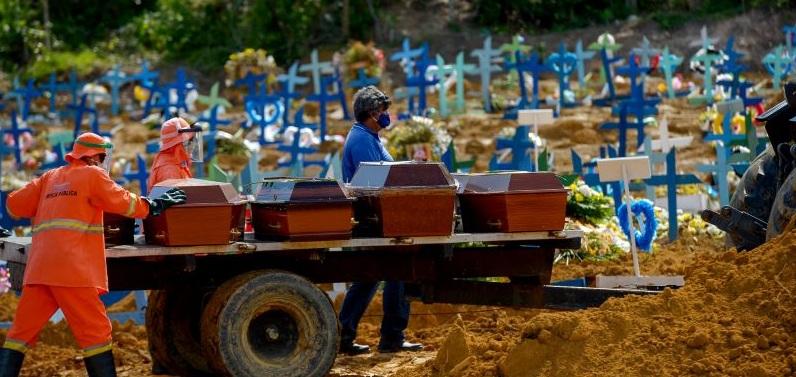 Brasil passa de 84 mil obitos pelo novo coronavírus nesta quinta (23)