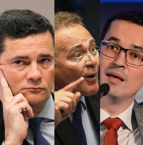 Para Calheiros, Moro e Deltan escolhem alvos conforme o interesse político do momento