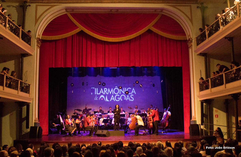 Orquestra Filarmônica de Alagoas e Banda homenageiam o São João no Forró Sinfônico