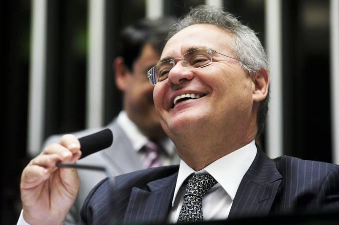 Renan Calheiros diz que o Brasil melhora quando Bolsonaro é menos Bolsonaro