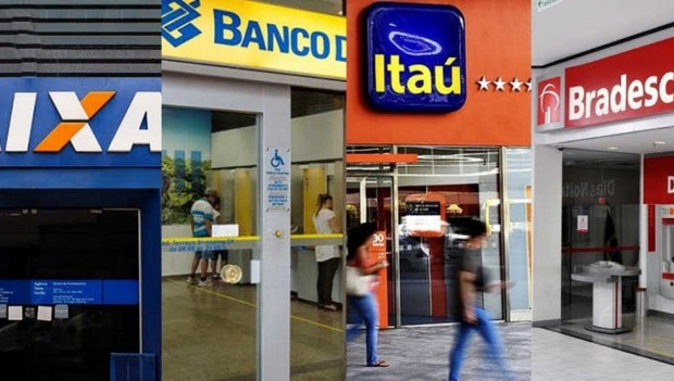 Agências bancárias fecham no carnaval