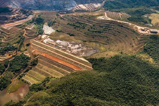 A Agência Nacional de Mineração prorroga estado de alerta para barragens em Minas Gerais