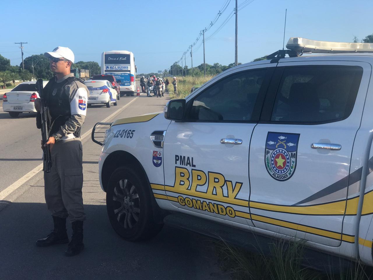 Ações do BPRV reduzem 92% dos acidentes de trânsito no litoral norte de AL