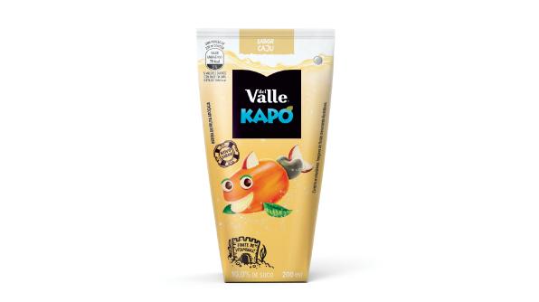 Produzido em Alagoas, Del Valle Kapo sabor Caju é lançado com exclusividade no Nordeste