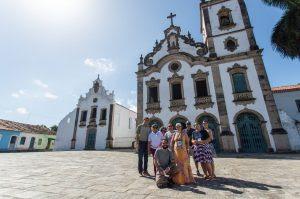 jornalistas visitam Marechal Deodoro para divulgação da cidade como destino turístico