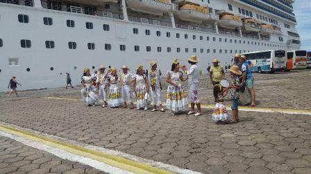 Turismo: navio italiano traz mais de 3 mil visitantes a Maceió