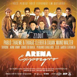 Arena Expoagro irá movimentar noites de shows no Parque da Pecuária