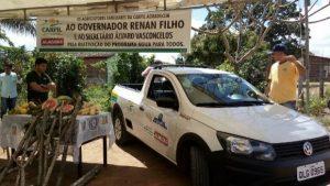 Veículos doados pelo Governo beneficiam duas mil famílias em Palmeira dos Índios