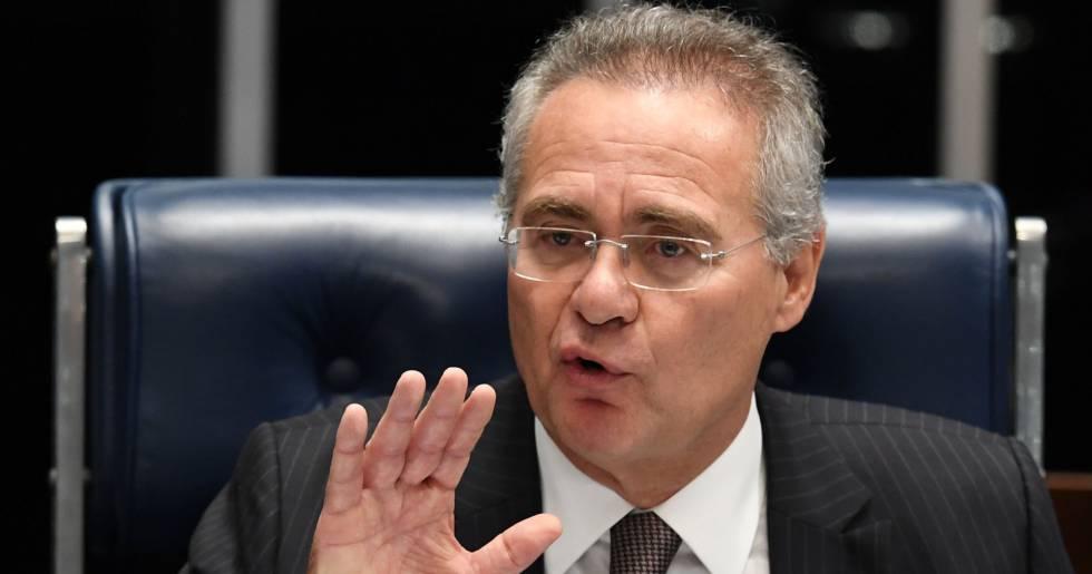 "Renan desabafa contra ""métodos ilegais"" das delações"