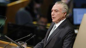 Temer usa dados não oficiais em discurso na ONU, diz pesquisador