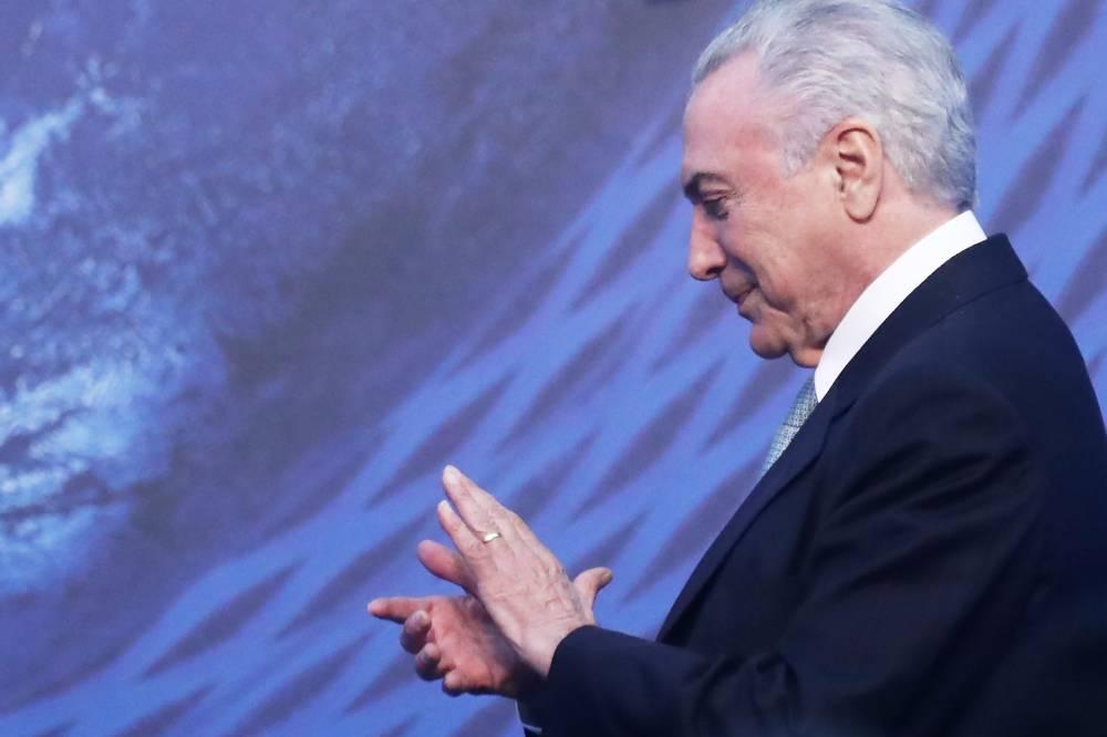 Segundo o Ibope, apenas 3% dos brasileiros aprovam governo Temer