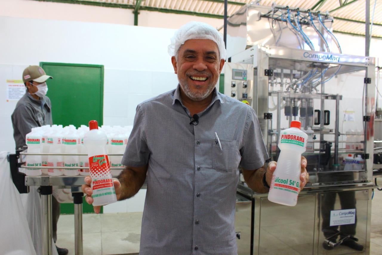 Pindorama começa a produzir primeiro álcool etílico 100% alagoano