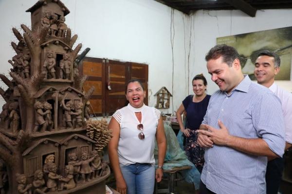 Governador assina ordem de serviço para reconstrução do Farinheiro de Capela