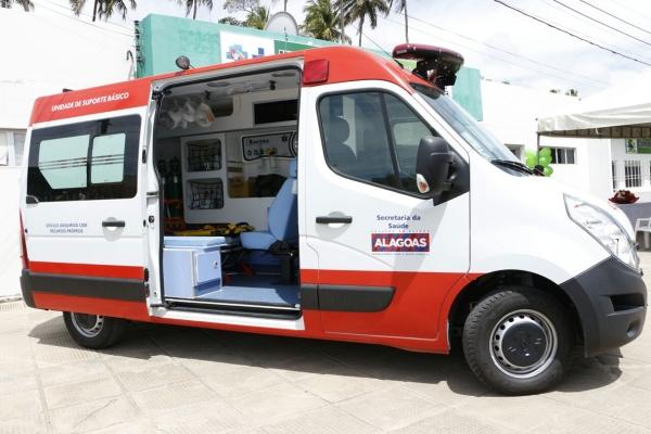 Nova ambulância do Samu garante atendimento qualificado para mais de 35 mil alagoanos e turistas