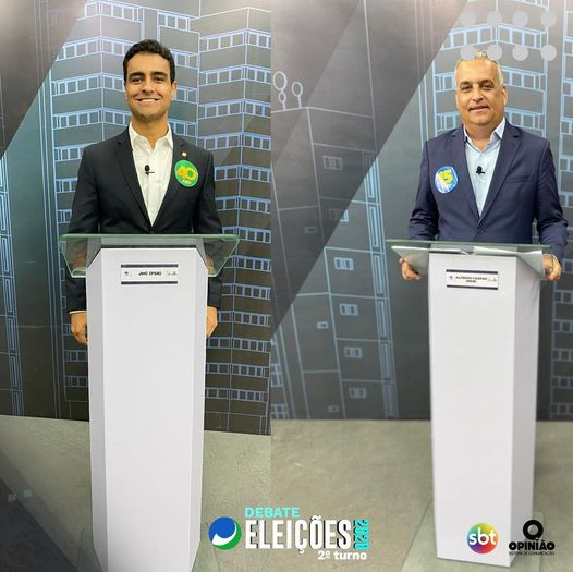 Alfredo e JHC participam de debate na TV Ponta Verde