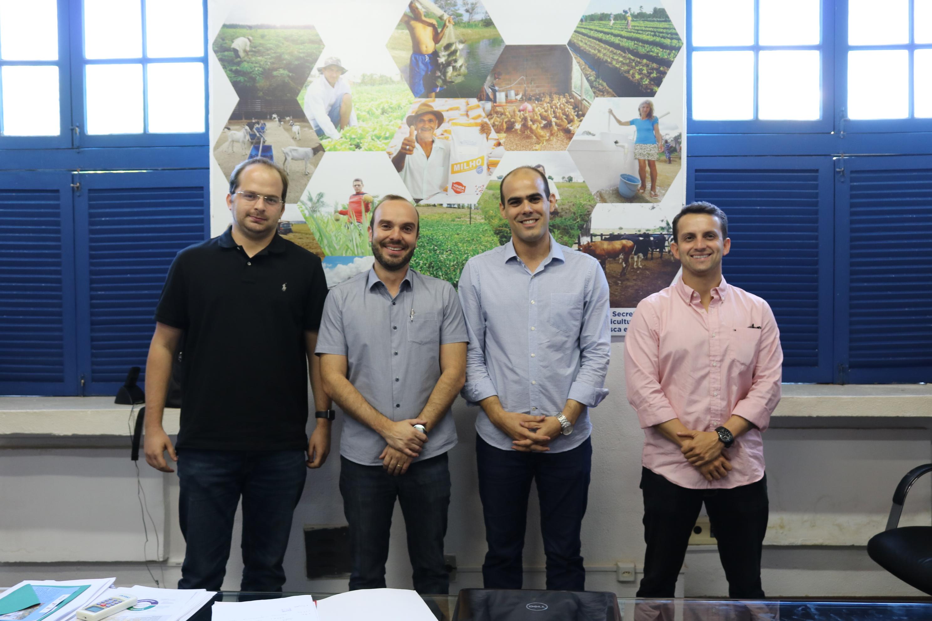 Asplana apresenta demanda do setor ao secretário de Agricultura