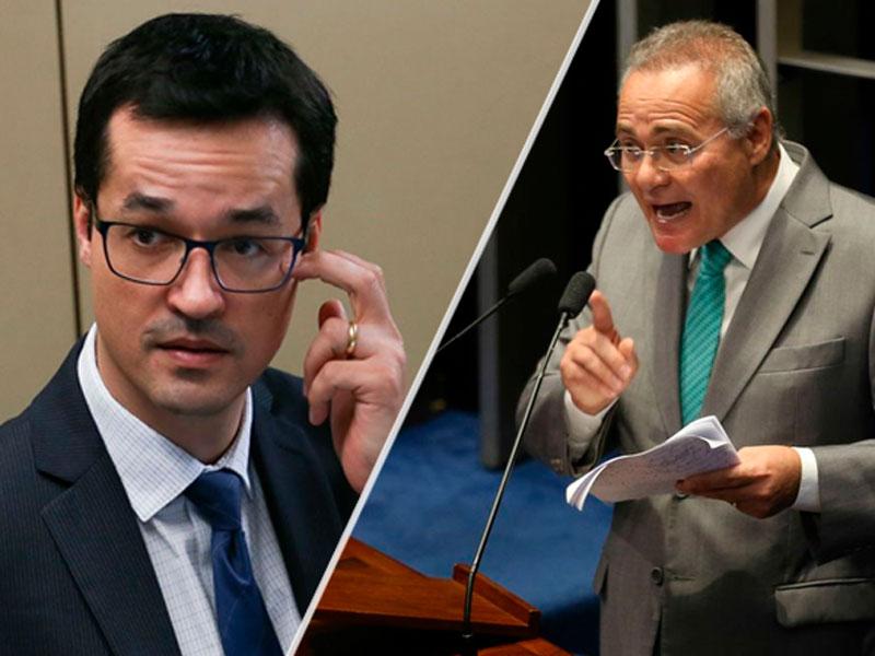 Renan Calheiros cobra julgamento para Deltan Dallagnol