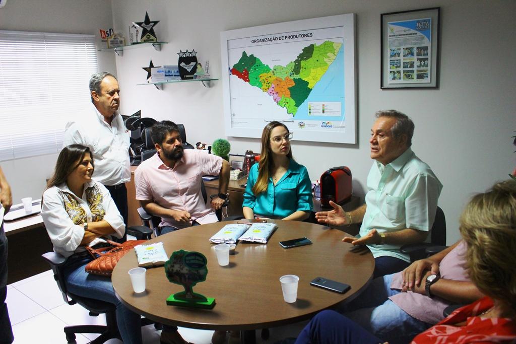 CPLA recebe Ronaldo Lessa para discutir Programa do Leite e UBL de Batalha