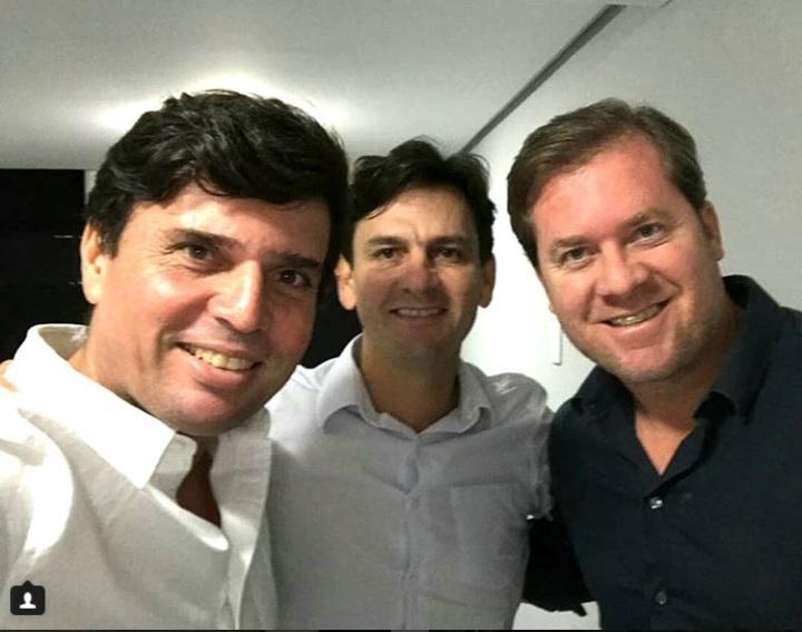 """""""Tamojunto"""", diz prefeito de Penedo, após encontro com Marx e Marcelo Beltrão"""