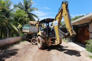 Segue avançando o programa de prevenção as enchentes
