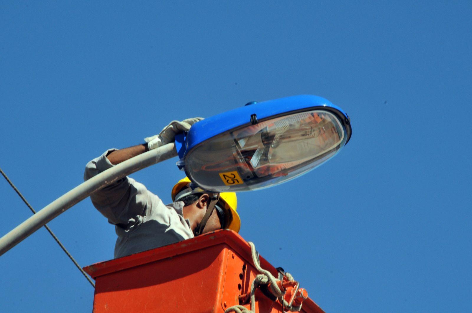 Palmeira dos Índios recebe revitalização da iluminação pública