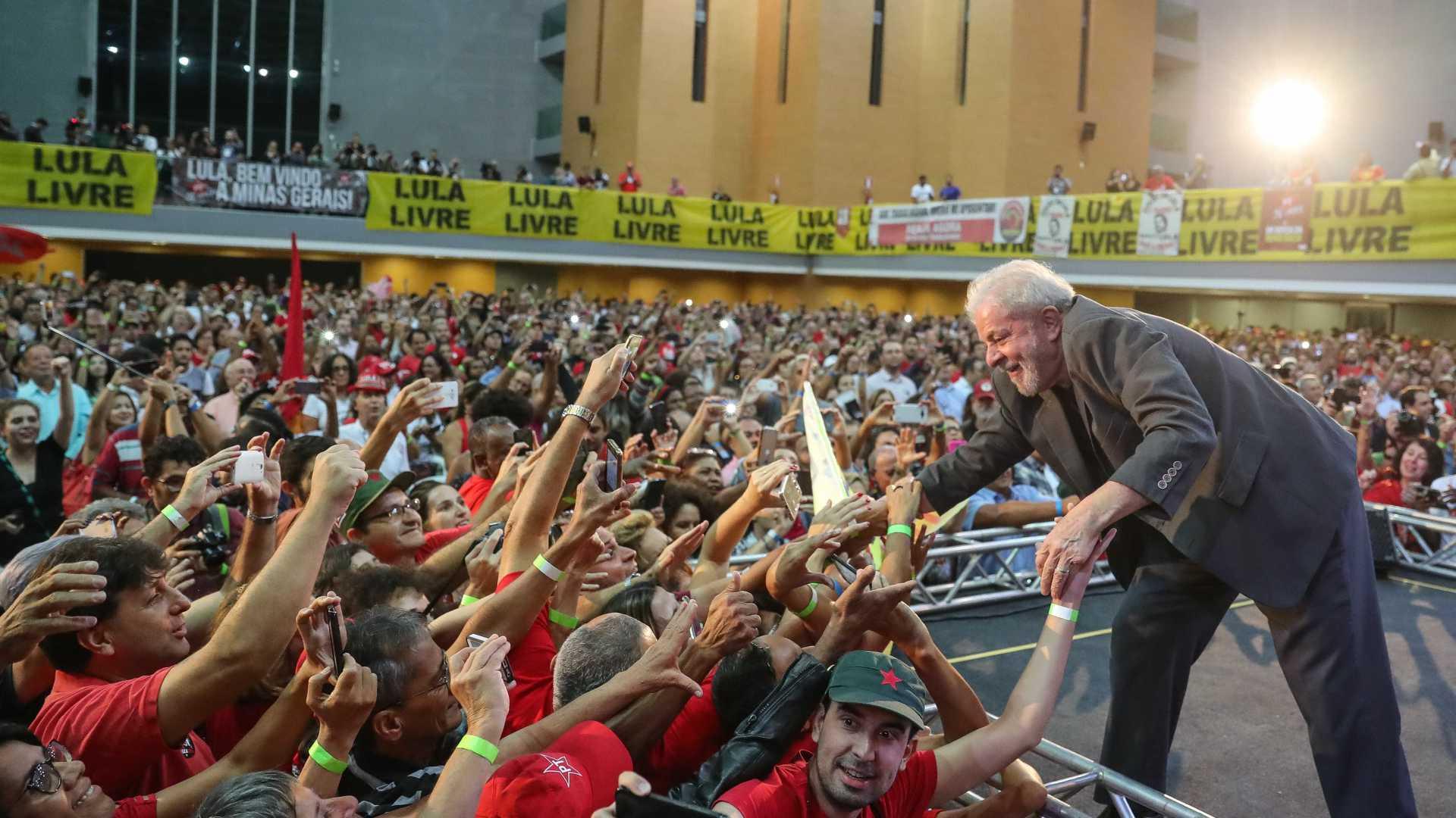 Em uma semana, PT arrecada mais de R$ 250 mil em vaquinha pró-Lula