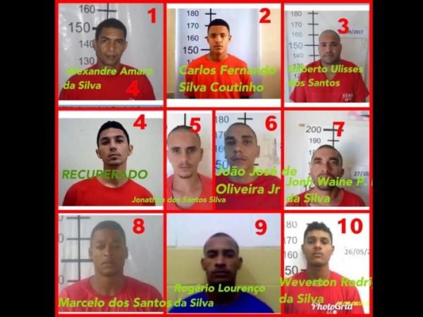 Dez presos fugiram do presídio de segurança máxima