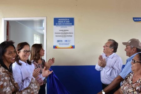 Prefeitura inaugura Posto de Saúde na zona rural de Santana do Ipanema