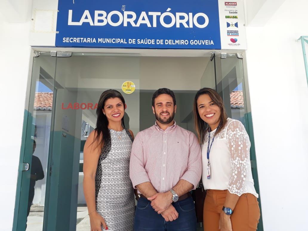 Laboratório municipal de Delmiro Gouveia reabre com a oferta de 23 exames