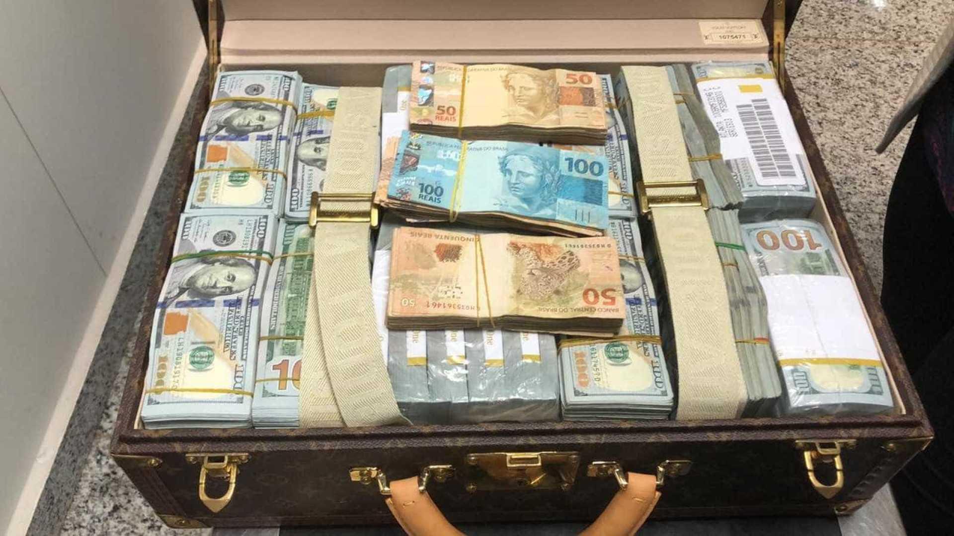 PF apreende R$ 69 milhões com filho de ditador africano em Viracopos