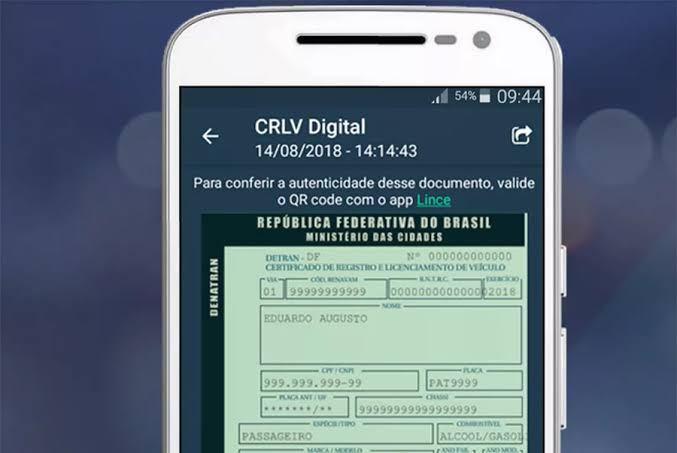 Confira as novas regras para emissão do CRLV