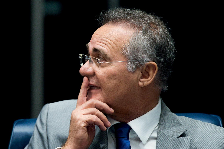 Renan Calheiros comenta depoimento do novo presidente da Funarte