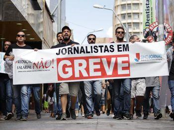 Greve dos jornalistas chega a oito dias e categoria segue sem acordo com empresas