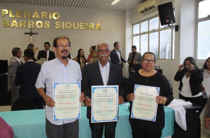 Vice-presidente da Pindorama recebe título de Cidadão Coruripense
