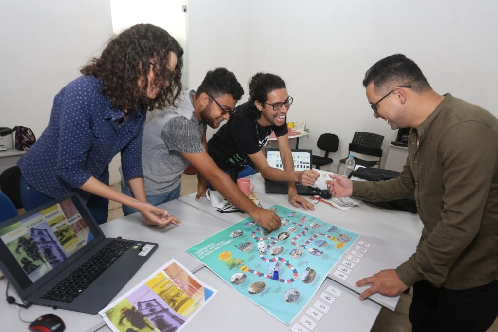 Prefeitura desenvolve jogos de educação patrimonial para escolas municipais