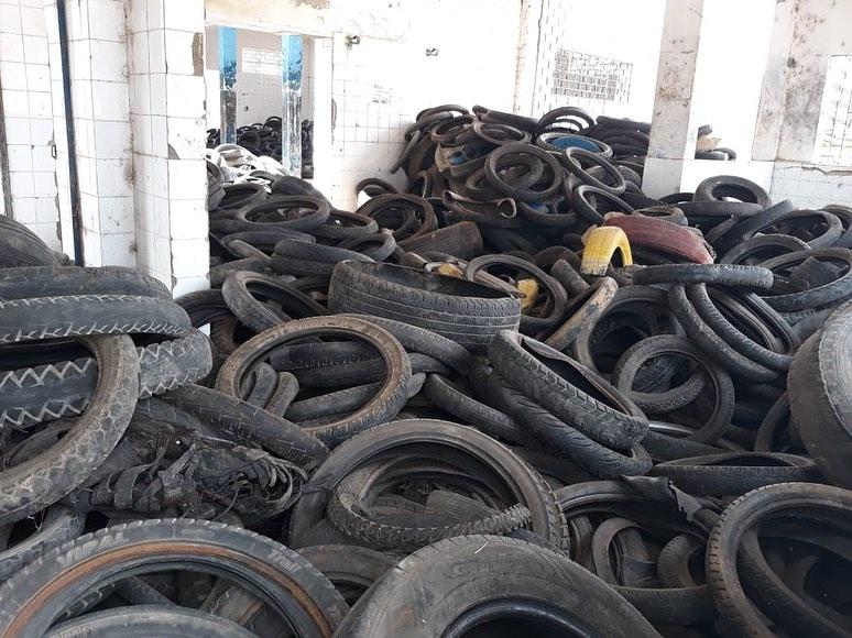 Prefeitura de Santana do Ipanema retirou do meio ambiente 4.647 pneus
