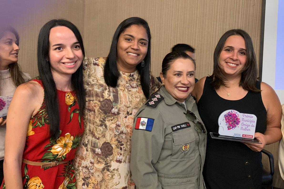 Cerimônia do Prêmio Município Amigo da Mulher 2019 acontece nesta quarta-feira (11)