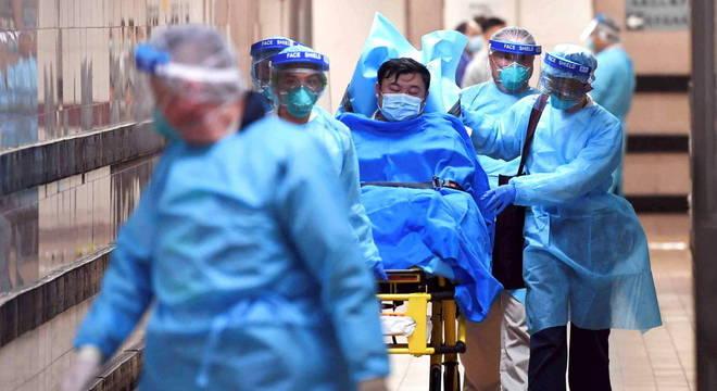 OMS classificou risco global de coronavírus como elevado