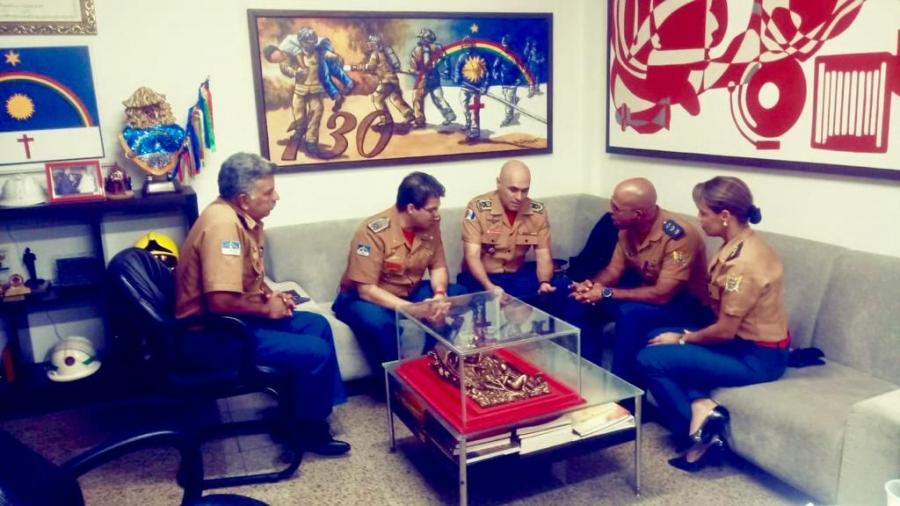 CBMAL discute atuação conjunta com Pernambuco e Bahia
