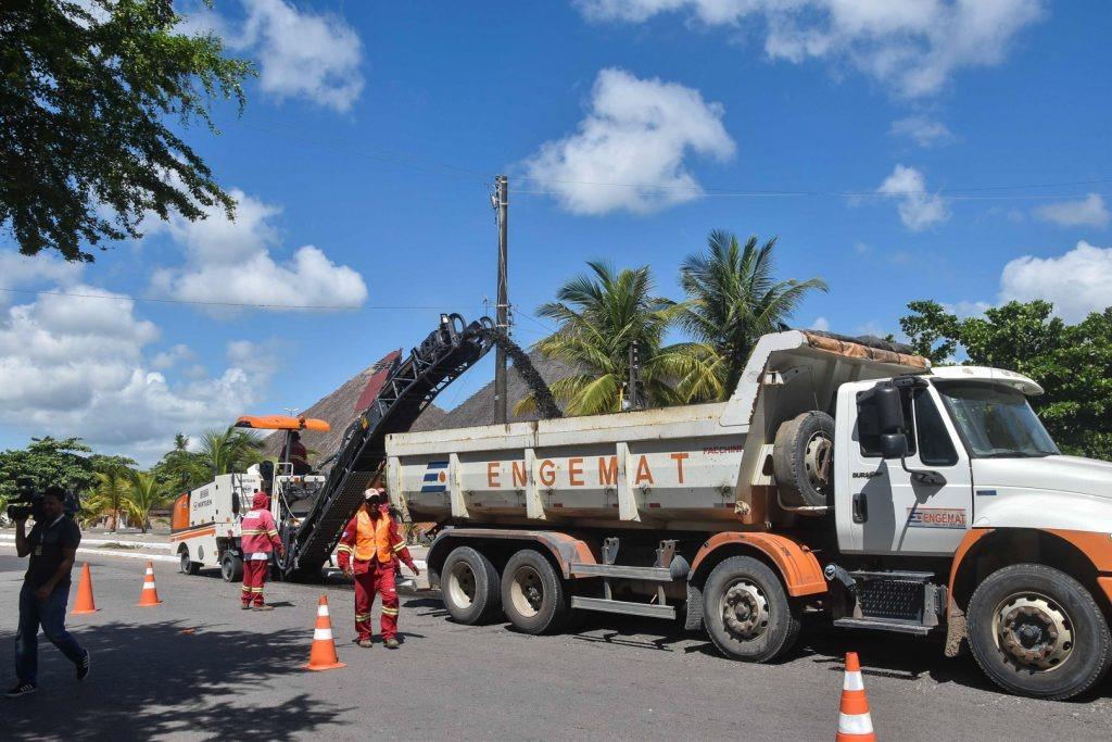 Obras na orla lagunar modificam trânsito