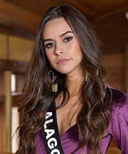 Raíssa Souza representa Alagoas em Miss Brasil 2019 neste sábado (9)