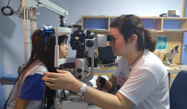 Olhinho Felizes: Projeto social atende crianças para consulta oftalmológica