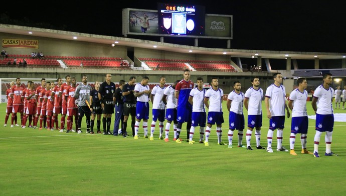 CRB enfrenta o  Bahia em crise pela Copa do Brasil