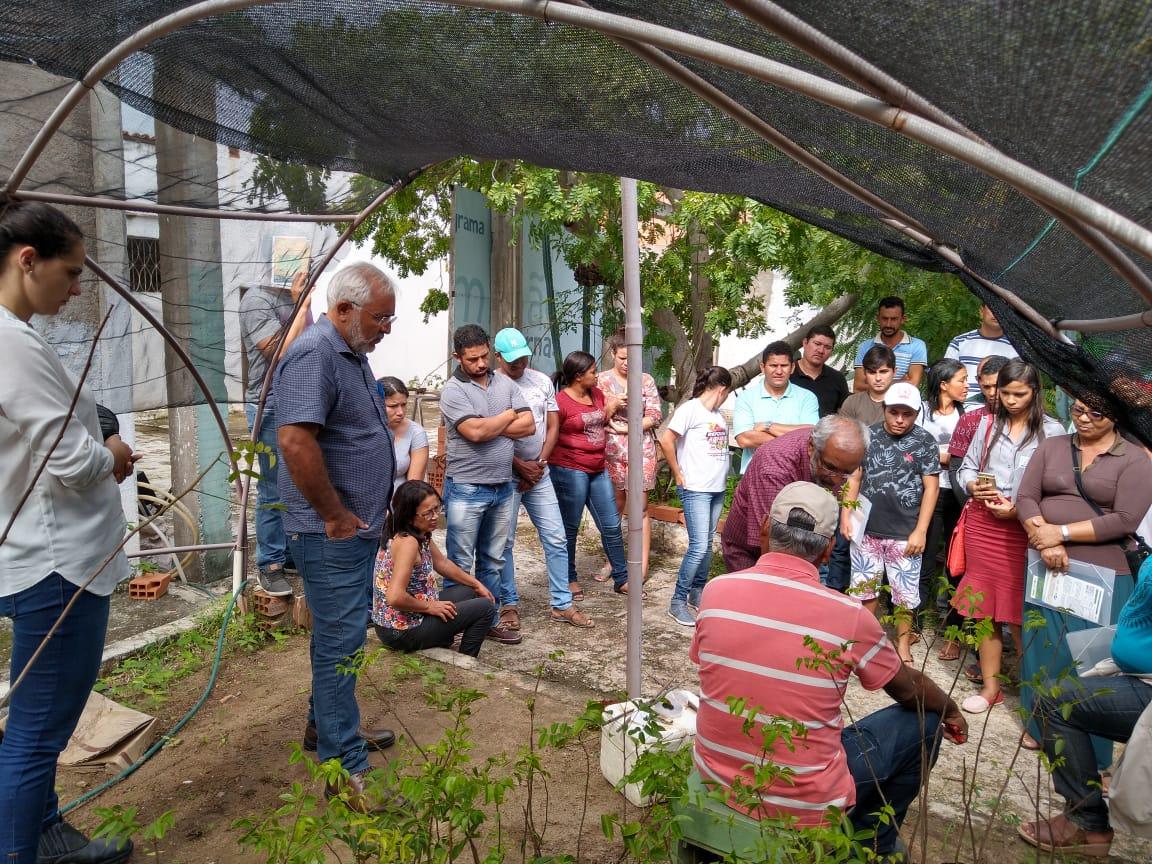 Produtores rurais participam de Curso de Enxertia para Fruticultura